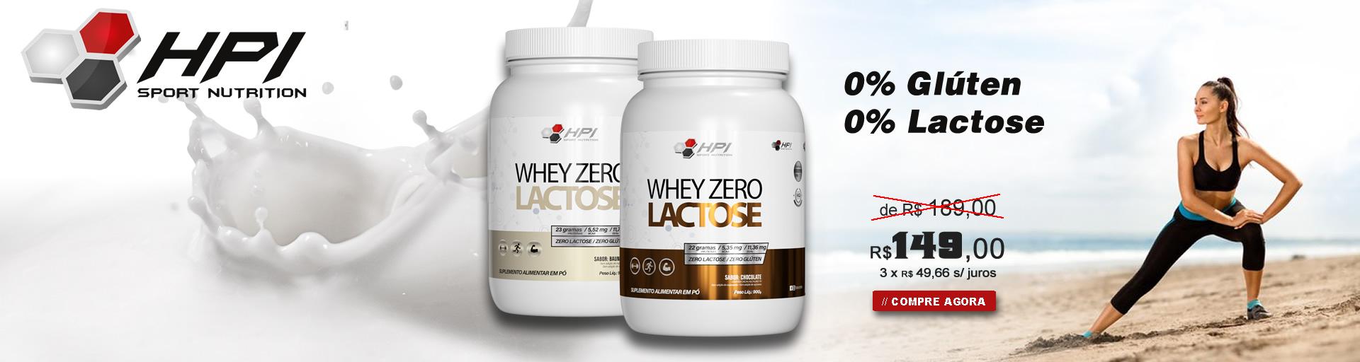 whey zero lactose