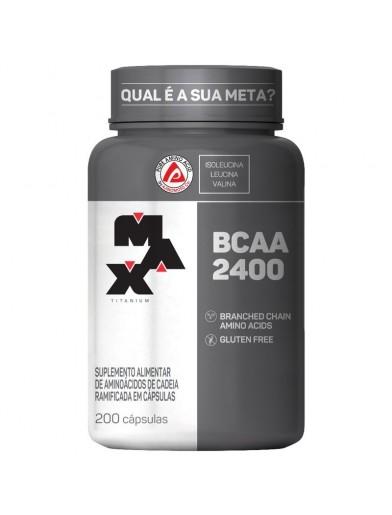 BCAA 2400 (100 caps) MAXTITANIUM