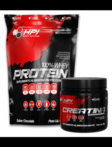 COMBO WHEY + CREATINA HPI Sport Nutrition