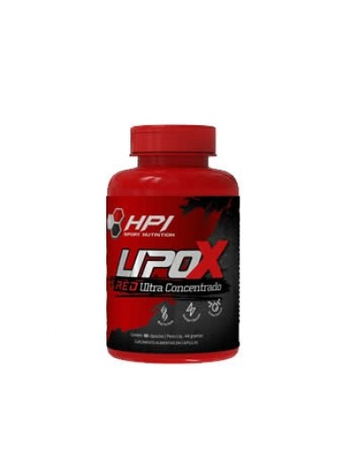 LIPOX RED 60 CAPS HPI SPORT NUTRITION