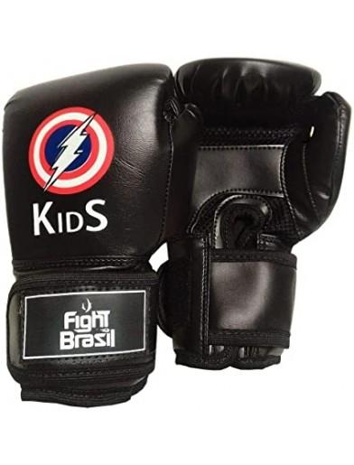 LUVA DE BOXE / MUAY THAI INFANTIL FIGHT BRASIL
