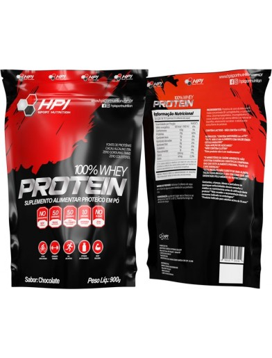 100% WHEY PROTEIN 900G HPI SPORT NUTRITION